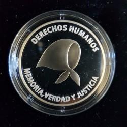 1 Peso 2006 Derechos Humanos - Plata Proof