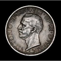 Italia 5 Liras 1926R KM67.1 Ag MB/EXC