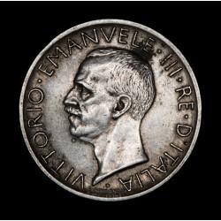 Italia 5 Liras 1929R KM67.1 Ag MB/EXC