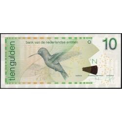 Antillas Holandesas 10 Gulden 2016 P28h UNC